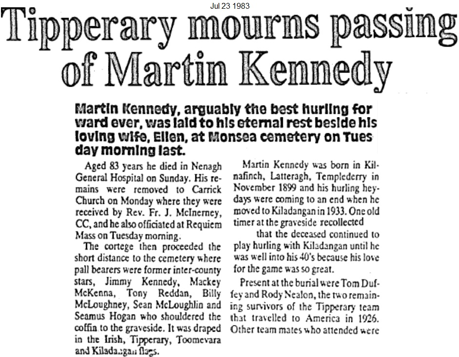 martin kennedy templederry 230783